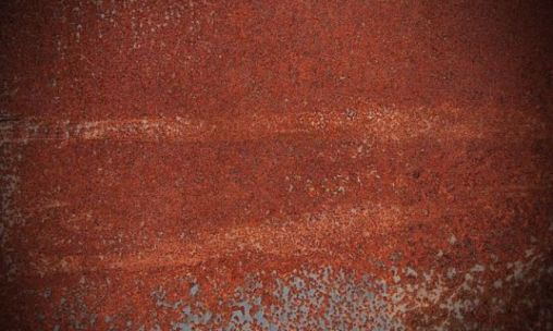 rust stains on iron furniture