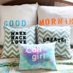 Ideas for customization cushions