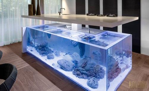 aquarium built