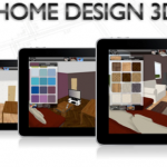 Application to design your home in 3D