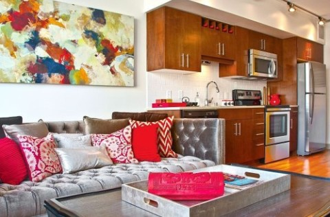 decorate a rented apartment