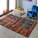 Colorful rugs for summer