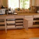Make an organizer panel for kitchen