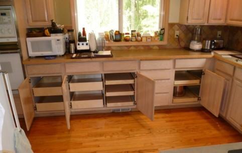 organizer panel for kitchen