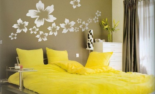 Tips for decorating the walls of the bedroom - Almost Like Home