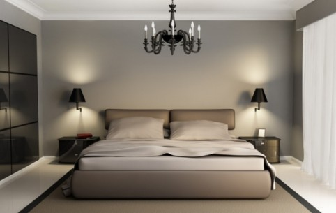 modern bedroom decorating ideas - like home