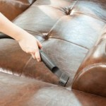 Tricks for cleaning leather furniture