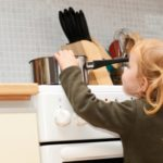 Safe kitchen for children