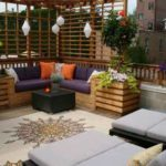 Ideas for decorating a terrace