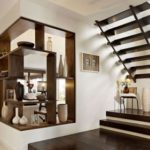 Ideas for decorating with a wooden staircase