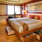How to make space in the bedroom