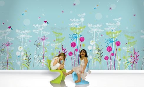 How to make paper to decorate the children's room