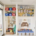 Great ideas for storing toys in the kids room